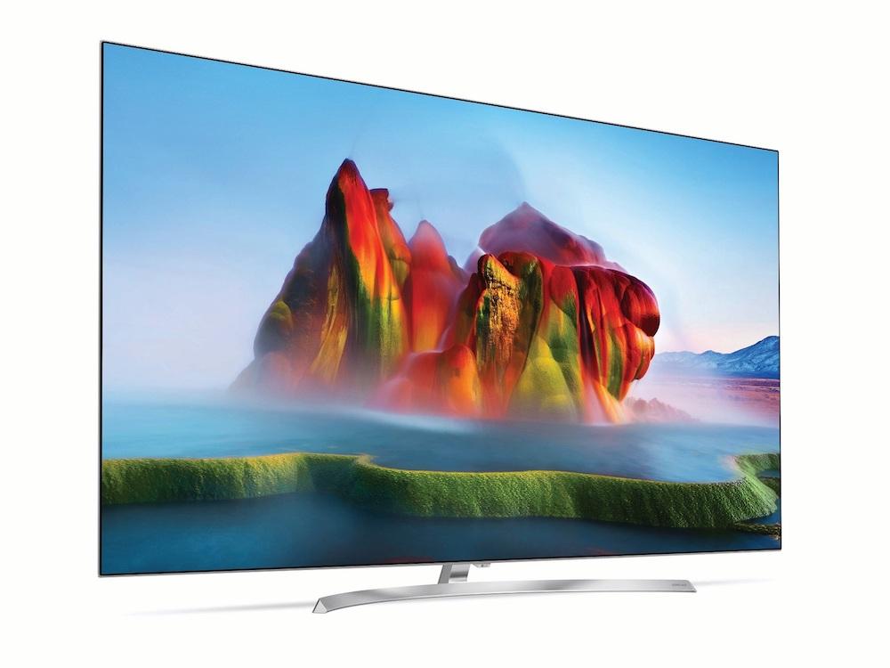 Super UHD-TV mit Nanozellen-Display (Foto: LG)