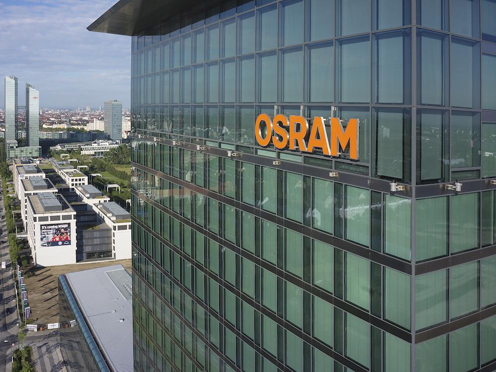 Zentrale von Osram in München (Foto: Osram)