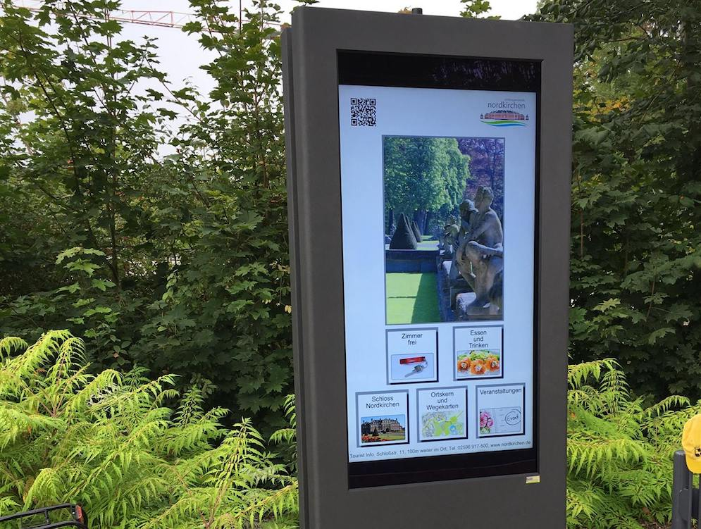 Adressaten des interaktiven Service sind Besucher und Bewohner des Ortes (Foto: m.i.b GmbH)