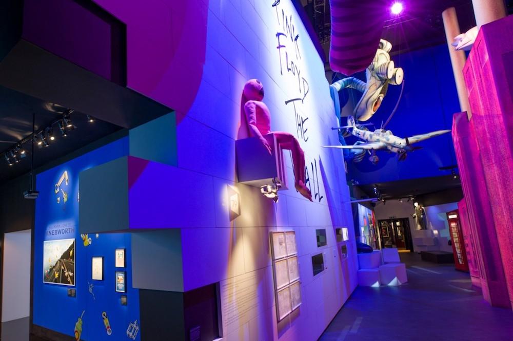 Another Brick in the Wall darf in der Ausstellung nicht fehlen (Foto: LD Communications)