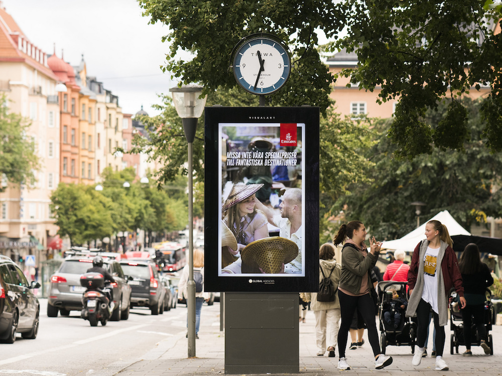 City Clock in Stockholm (Foto: Global Agencies)