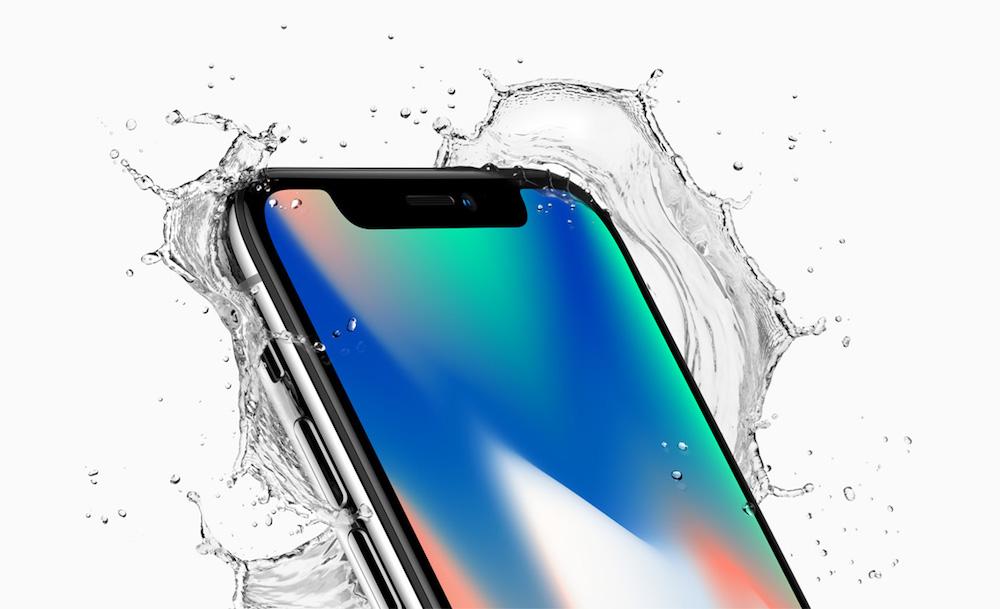 Das iPhone X nutzt OLED und Glas –letzteres soll den Schutz vor Staub und Spritzwasser verbessern (Foto: Apple)