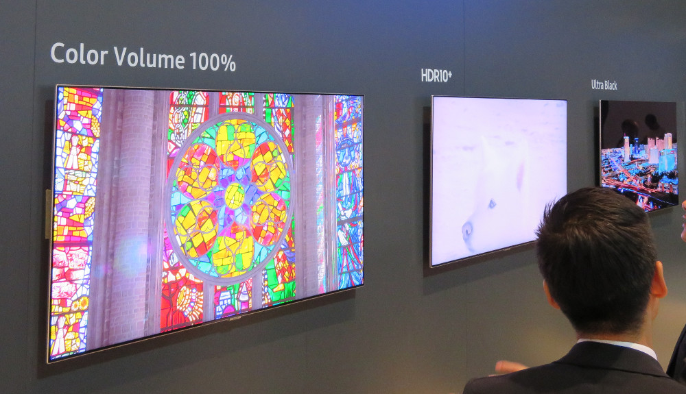Digital Signage Samsung HDR10+ (Foto: invidis)