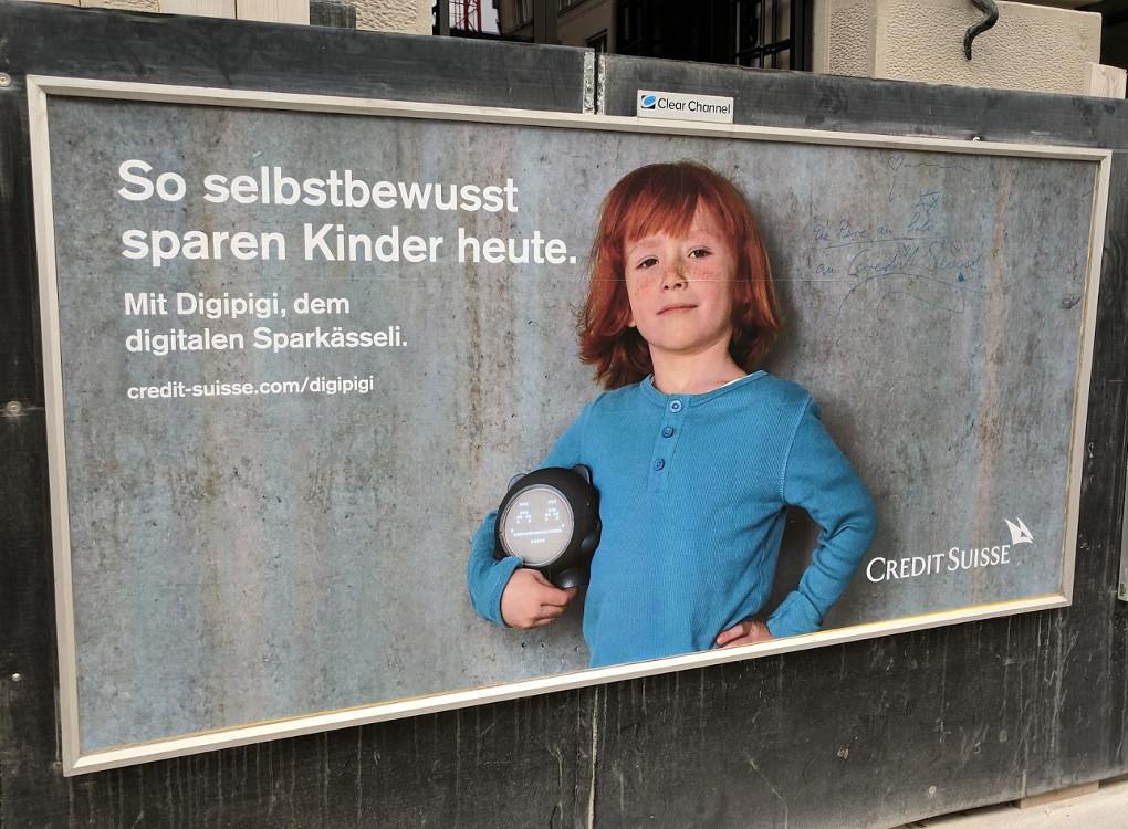 Credit Suisse Digipigi (Foto: invidis)