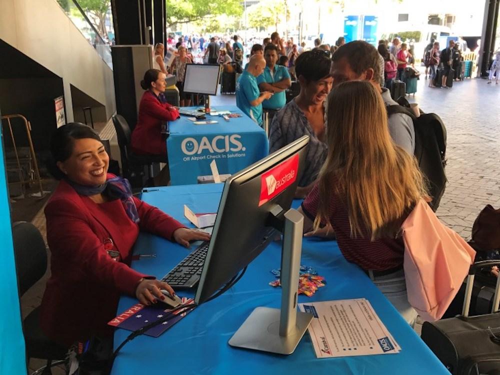 OACIS im Einsatz für Virgin Australia in Australien (Foto: Amadeus)