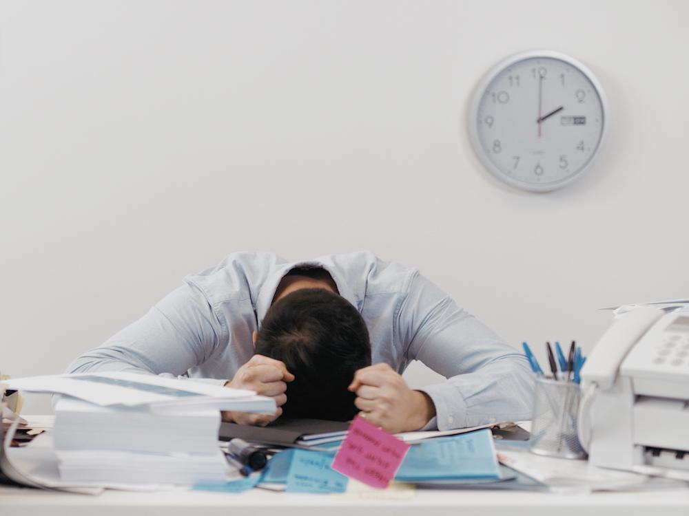 Produktivität sieht anders aus (Foto: Sharp)
