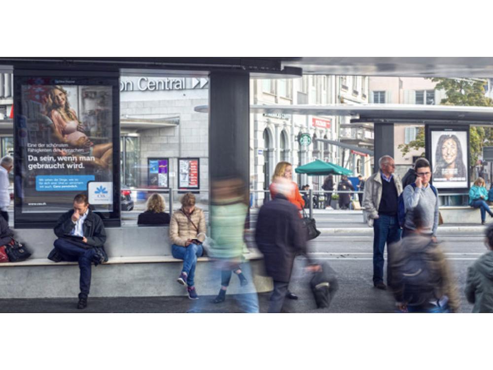 Sind nun buchbar – neue Plakatstellen am Central (Foto: Clear Channel)