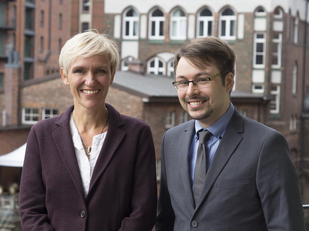 Susanne Waßmer und Florian Thiel (Foto: komma,tec redaction)