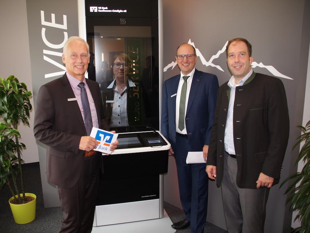 Bank Services per Video sind nun auch bei der VR Bank Kaufbeuren-Ostallgäu möglich (Foto: InfoGate Information Systems)