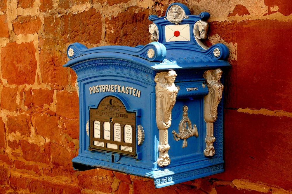 Briefkasten – noch ohne Smart Lock (Foto: Pixabay / StfeanHoffmann)