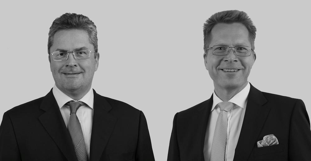 Von links: Christian Pusch und Erik Wolff bleiben Vorstände der ICT (Foto: ICT)