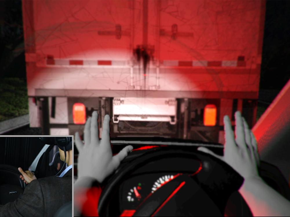 Der Simulator nutzt VR-Technologie von Holovis (Foto: Holovis)