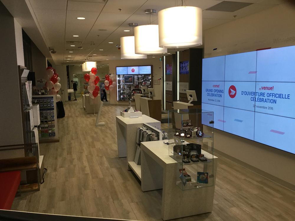 Der Store in Vancouver ist der letzte von bislang drei eröffneten in Kanada (Foto: Canada Post)