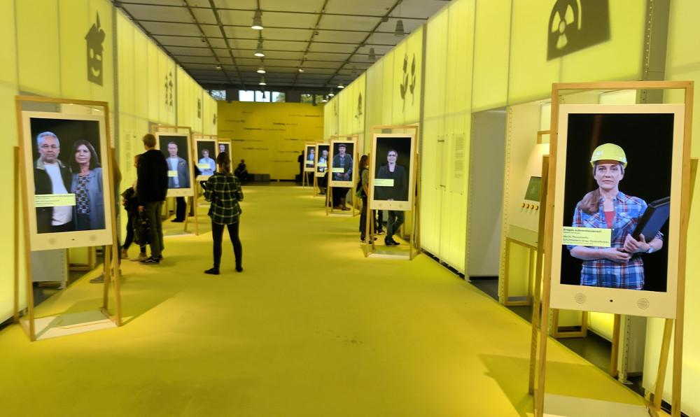 Digital Signage im Deutschen Museum (Foto: invidis)