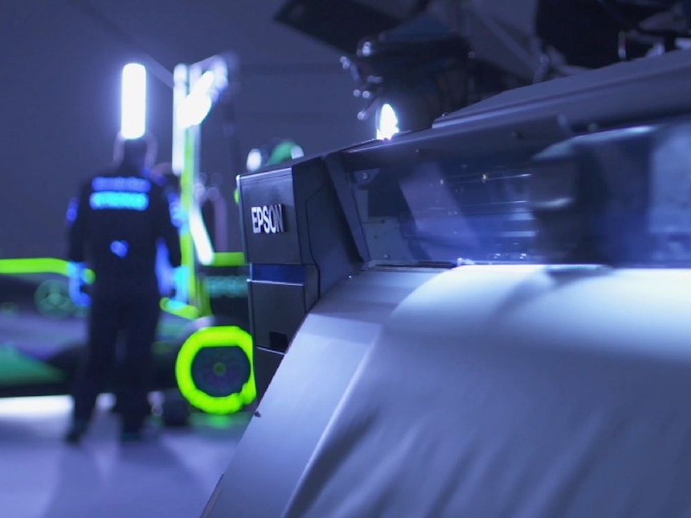 Projektoren: Ein Boxenstopp wie in Tron | invidis