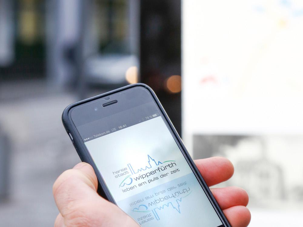 Einstone Eco System im Einsatz mit einer passenden App (Foto: Osram)