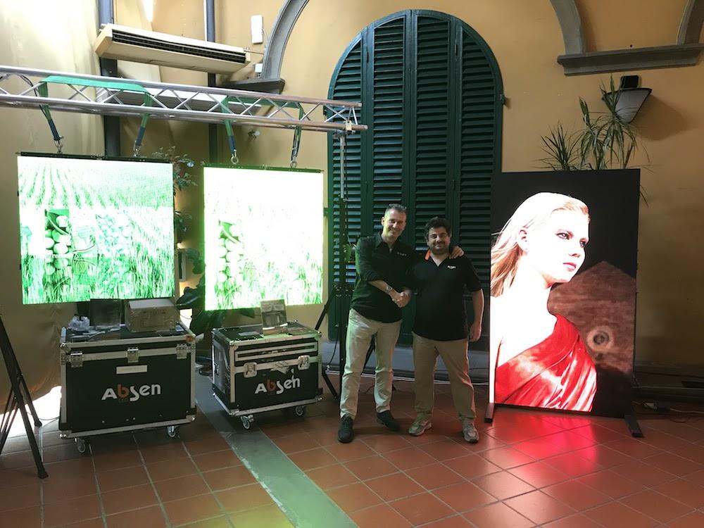 In Italien hat Absen jetzt einen exklusiven Distributor (Foto: Absen)