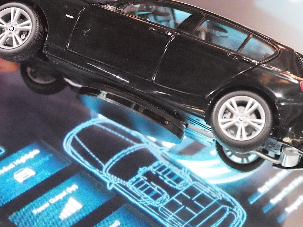 Neuentwickelter Marker von eyefactive hier im Einsatz für BMW in UK (Foto: invidis)