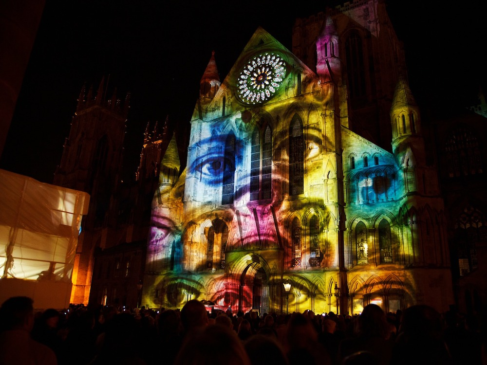 Projection Mapping – Symbolbild (Foto: Pixabay / PublicDomainPictures)