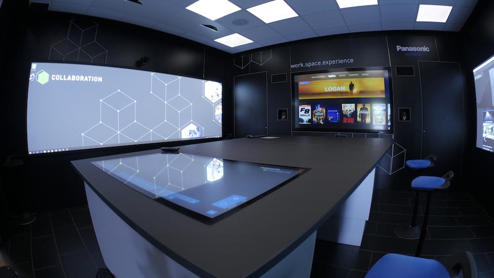 macom aus Stuttgart entwickelte eine Collaboration-Lösung (Foto: Panasonic)
