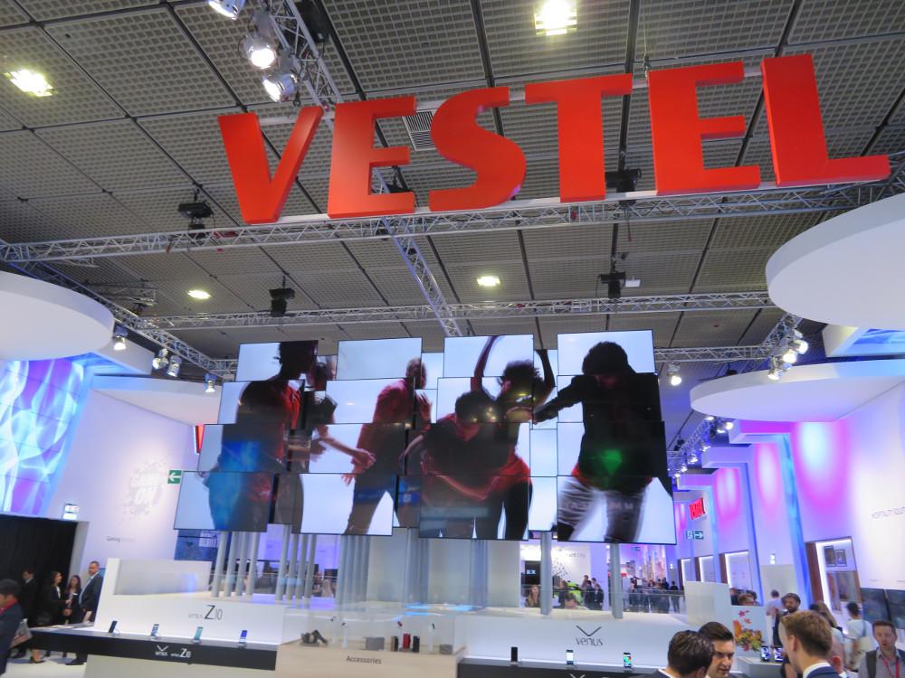 Vestel Digital Signage auf der IFA 2017 (Foto: invidis)