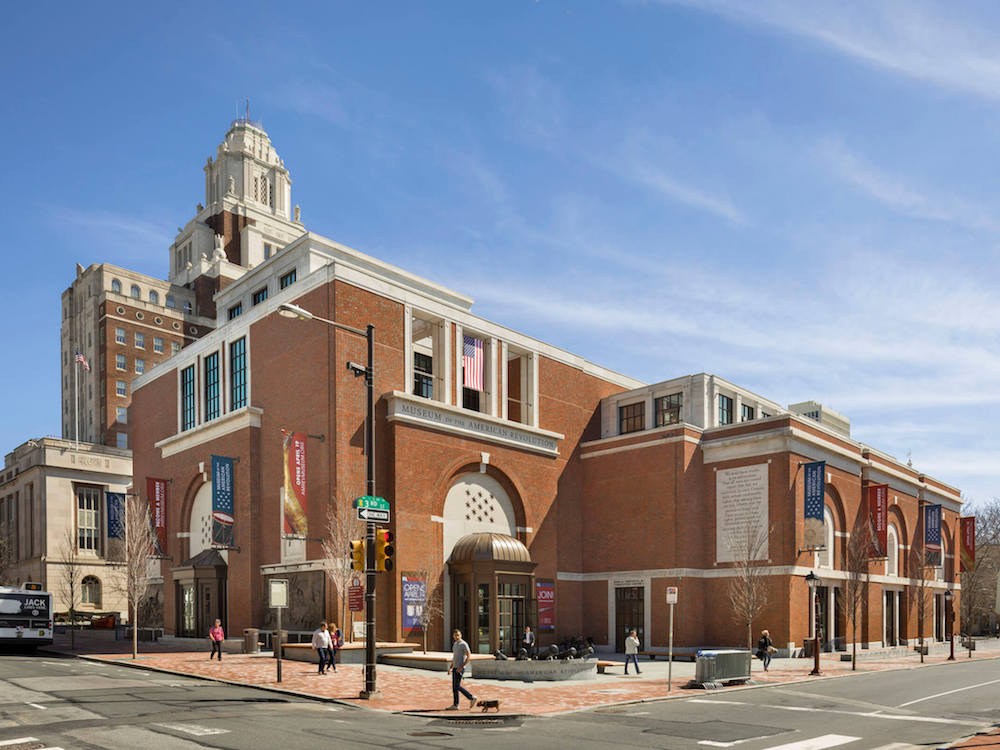 Das Museum of the American Revolution in Philadelphia (Foto: Robert A.M. Stern Architects)
