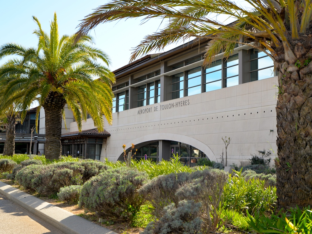Der Flughafen in Toulon und der Außenwerber setzen auf Digitalisierung (Foto: Aéroport Toulon Hyeres)