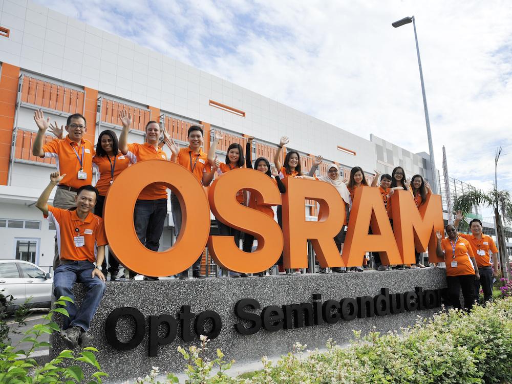 Neue LED-Chipfabrik im malaysischen Kulim (Foto: Osram)