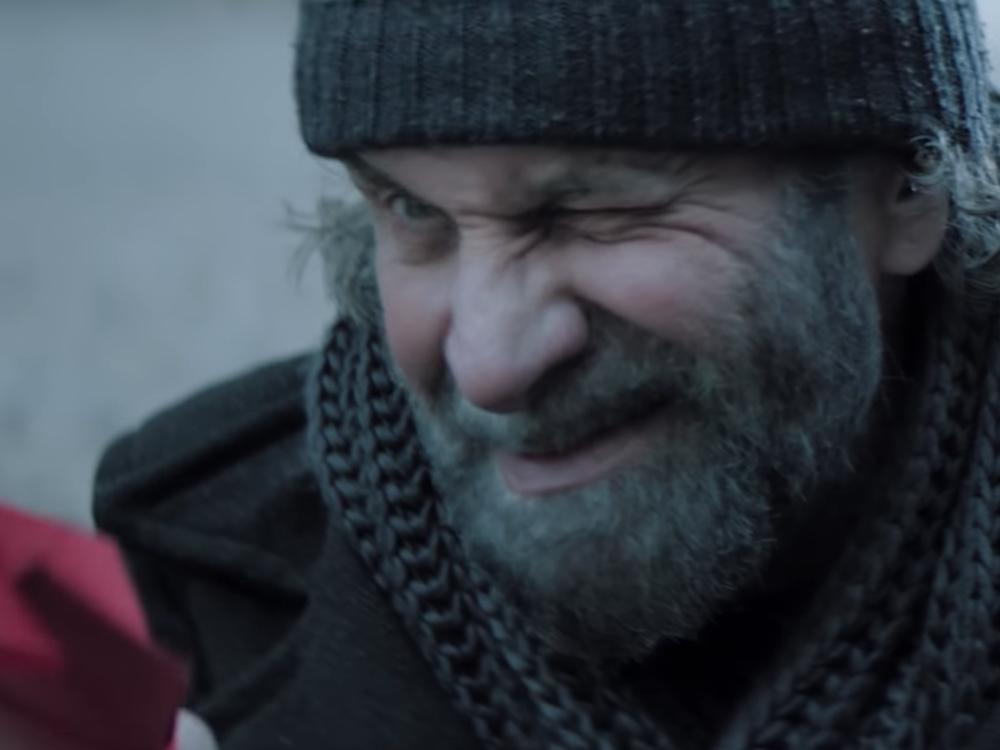 Szene aus der aktuellen Weihnachtskampagne der Deutschen Bahn (Screenshot: invidis)