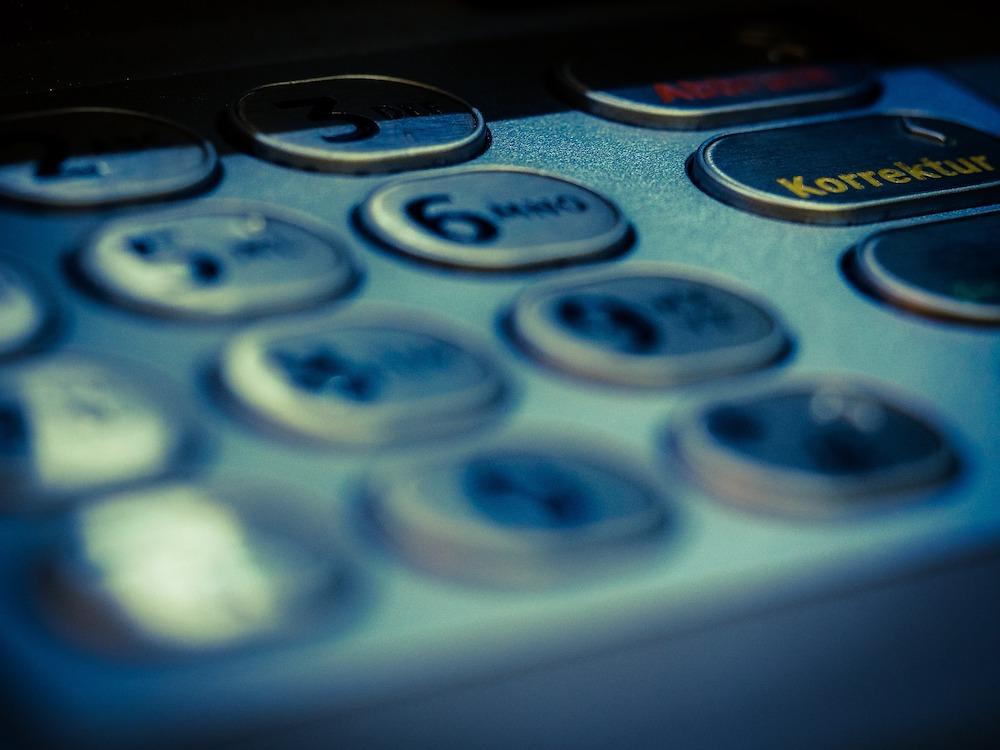 Tastatur eines ATMs Symbolbild (Foto: Pixabay / TBIT)