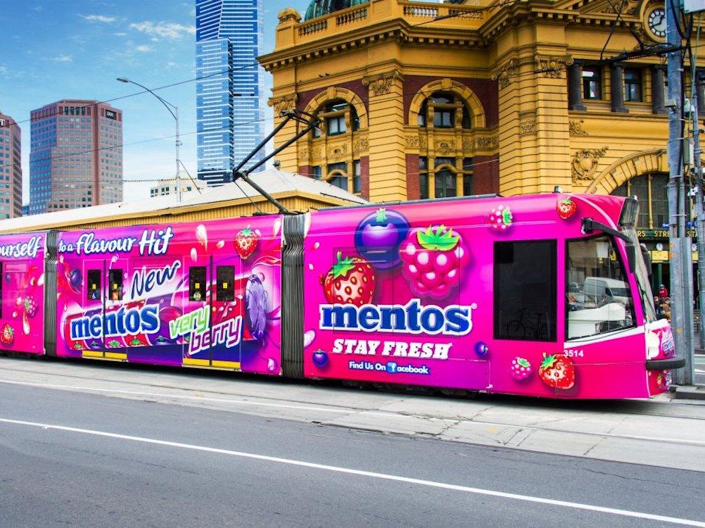 Tram von Yarra in Melbourne (Foto: JCDecaux)