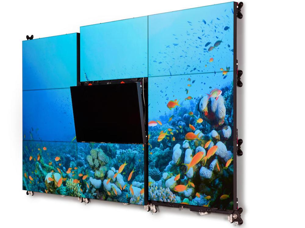 UniSee Video Wall in 3x3 Matrix (Foto: Barco)