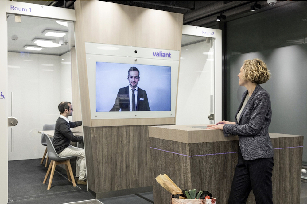 Videoberatung in der Filiale ermöglicht eine effizientere Struktur der Retail Bank (Foto: Westiform)