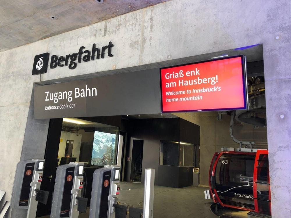 Innsbruck Talstation (Foto. Kapsch)