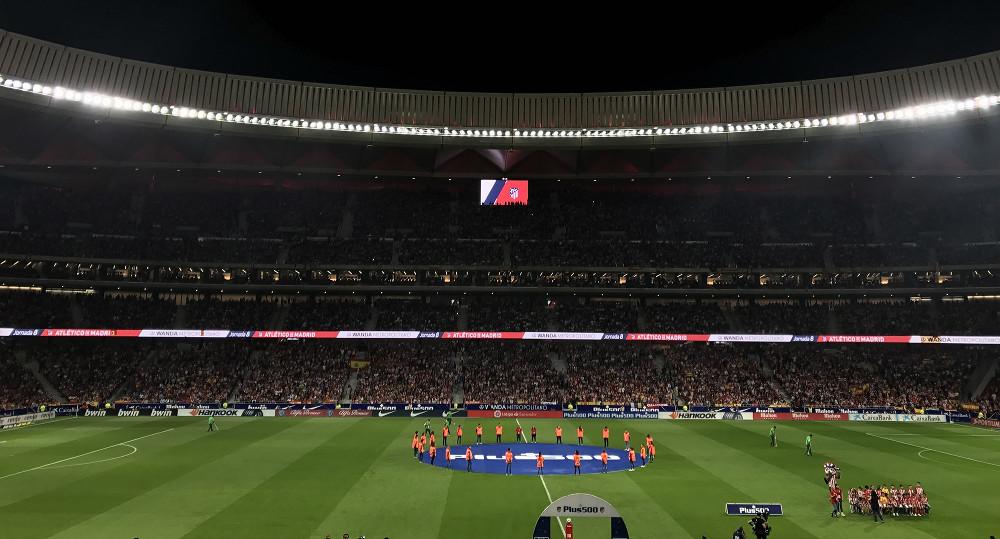 Atletico Madrid Stadium mit LG Signage (Foto: Lg)