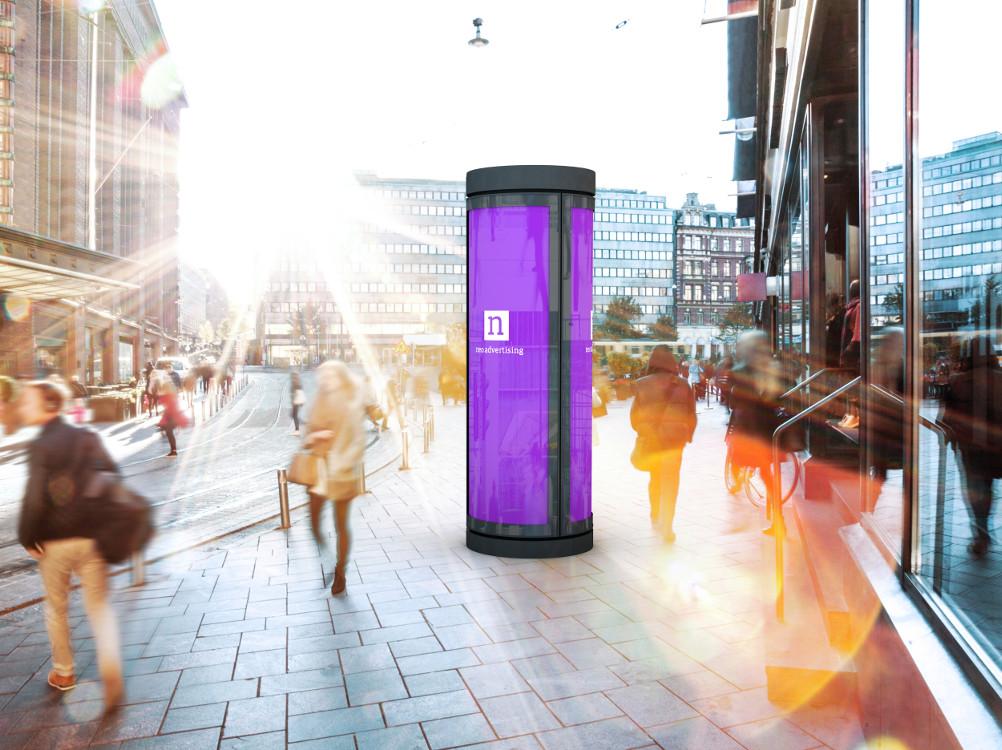 Neo advertising Leuchtdrehsäulen (Foto: Neo Advertising)