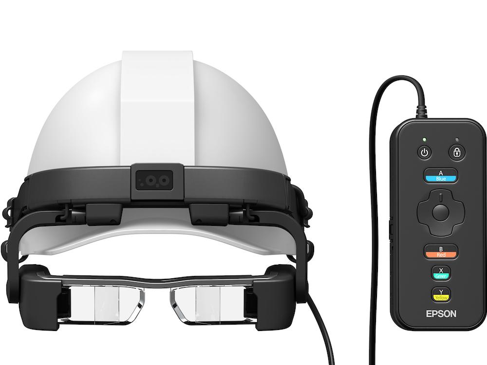 AR-Brille Moverio BT-2200 – gedacht für Einsätze in Produktionsumgebungen (Foto: Epson)
