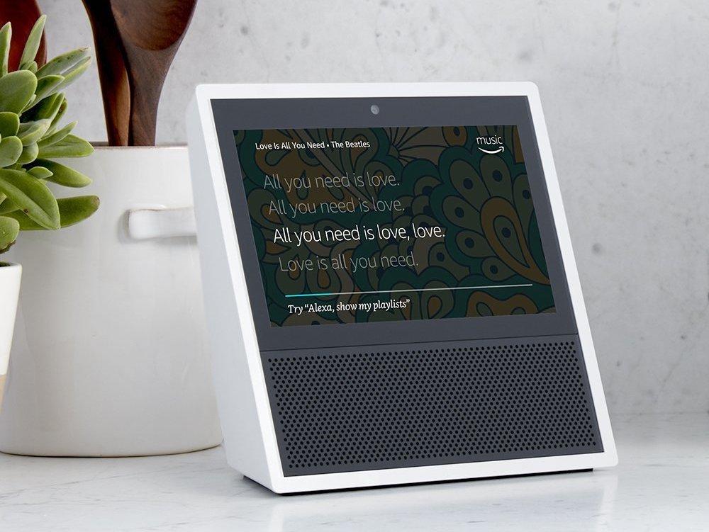 Alexa entwickelt einen Seh-Sinn – neuer Echo Show (Foto: Amazon)