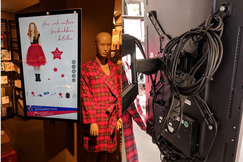 Retail Reality - der kampf mit den Kabeln (Foto: invidis)