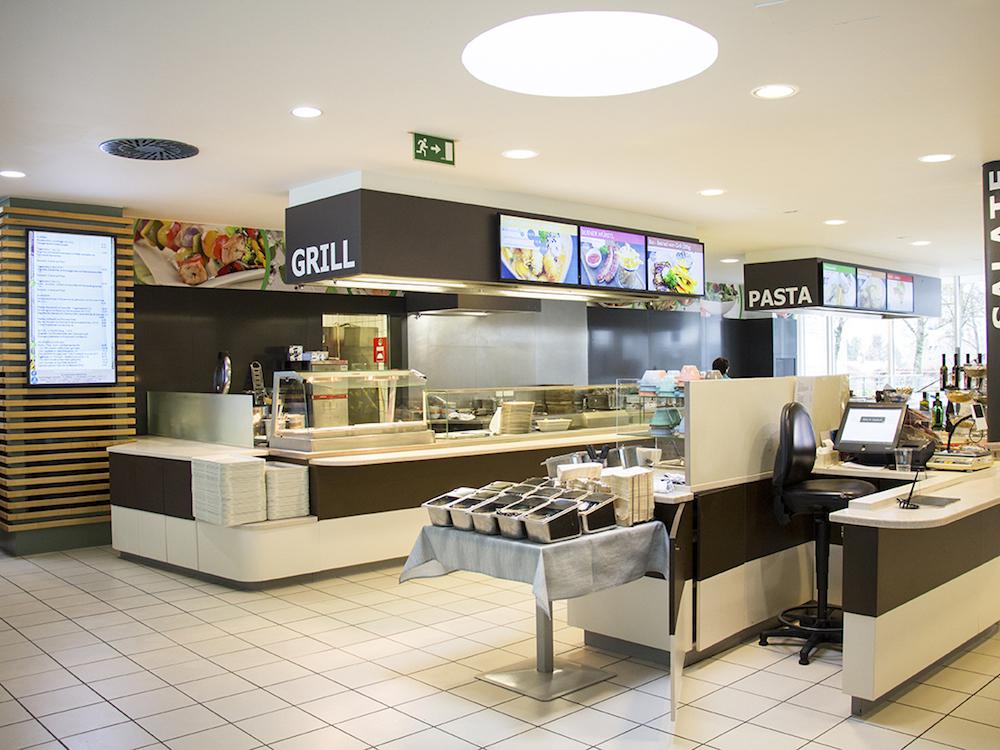 Digitale Speisekarte und die DMBs sorgen für schnelle und visuell aufgelockerte Information im Gastro-Bereich (Foto: Wedeko)