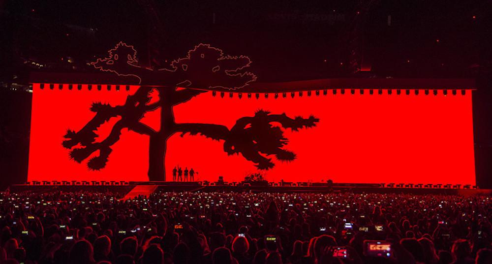 Mit Joshua Tree waren U2 auch 2017 wieder unterwegs (ROE Visual)