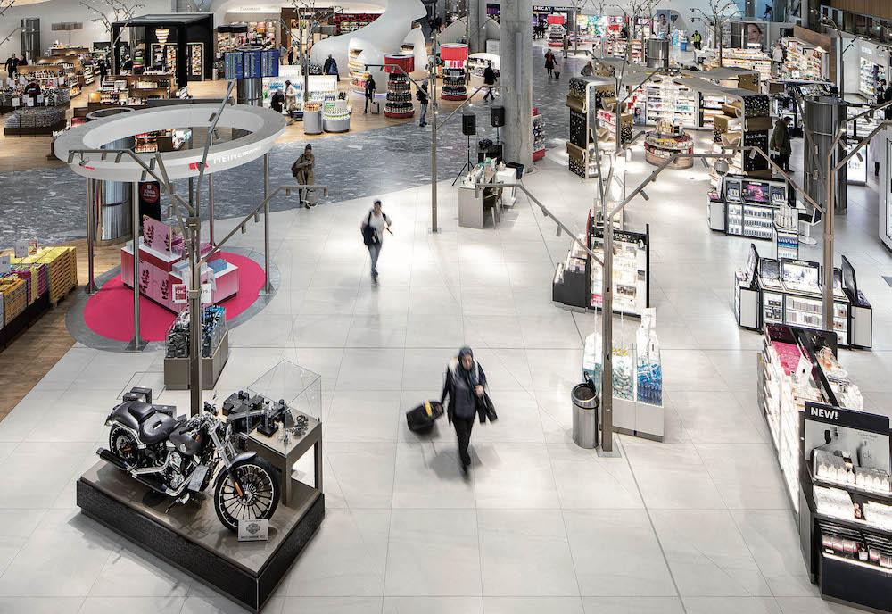 Retail-Flächen am Flughafen Oslo (Foto: Avinor)