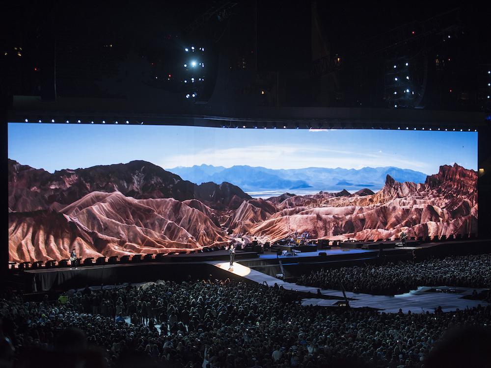 U2 und d3 Technologies –beziehungsweise disguise – haben eine gemeinsame Geschichte (Foto: Stufish)