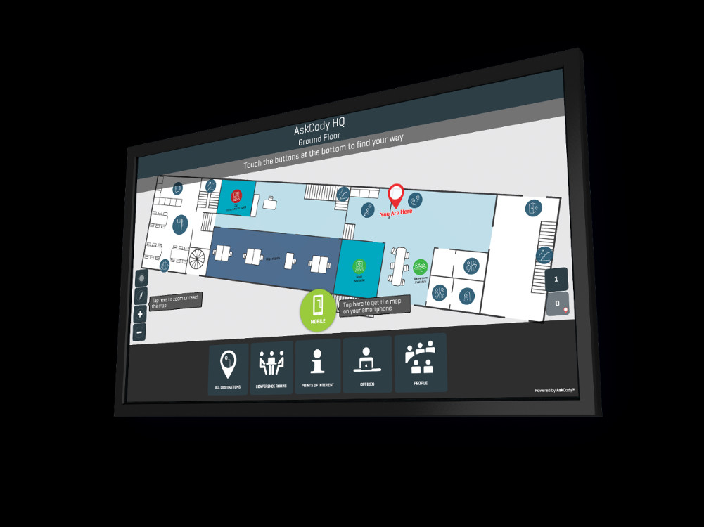 Digital Signage meets Workplace Management (Foto: Signagelive)
