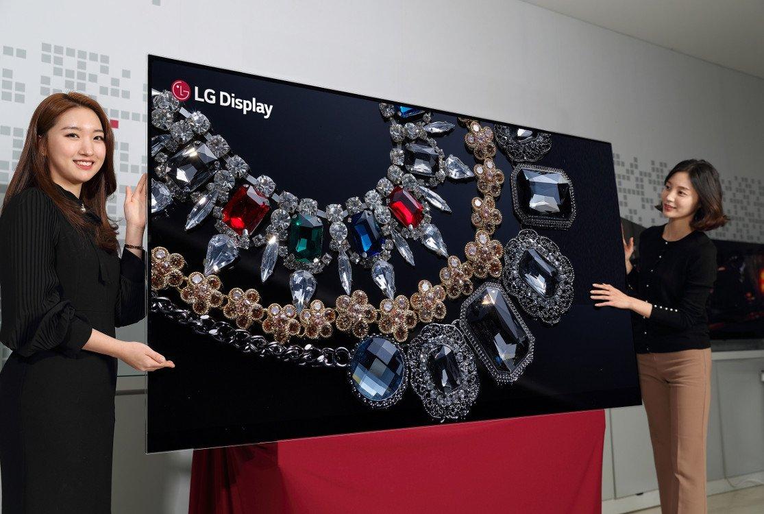 LG Display präsentiert 88 OLED (Foto: LG Display)
