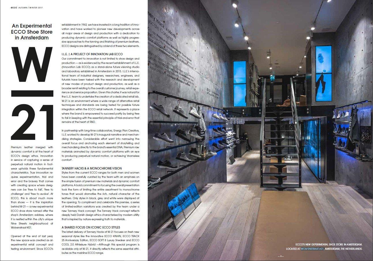 Ecco Journal AW17 (Foto. Screenshot)