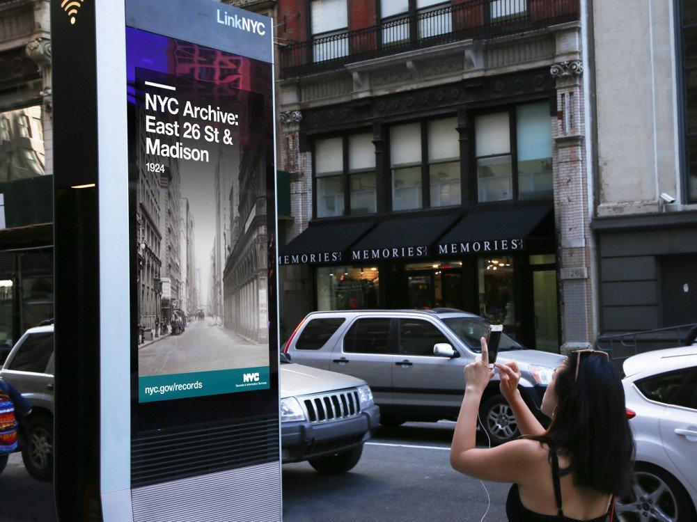 LinkNYC demnächst auf Broadsign (Foto: Broadsign)