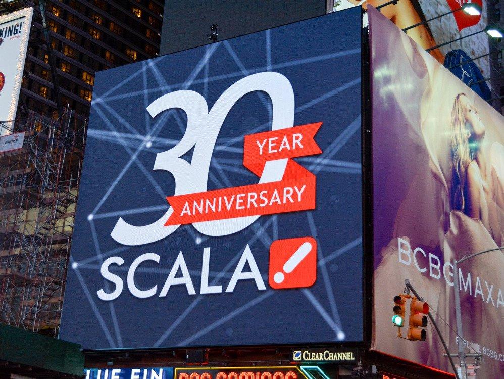 Scala feierte Ende 2017 das 30. Firmenjubiläum (Foto. Scala)