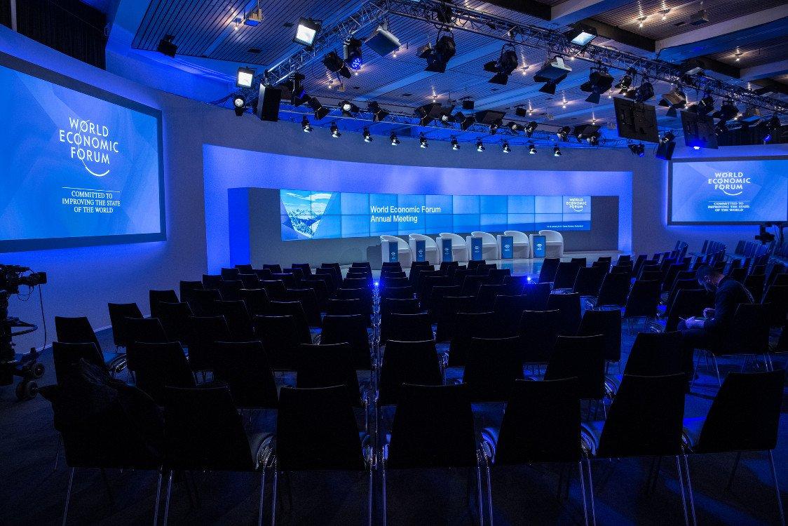 Digitalste Bühne in Davos (Foto:WEF)