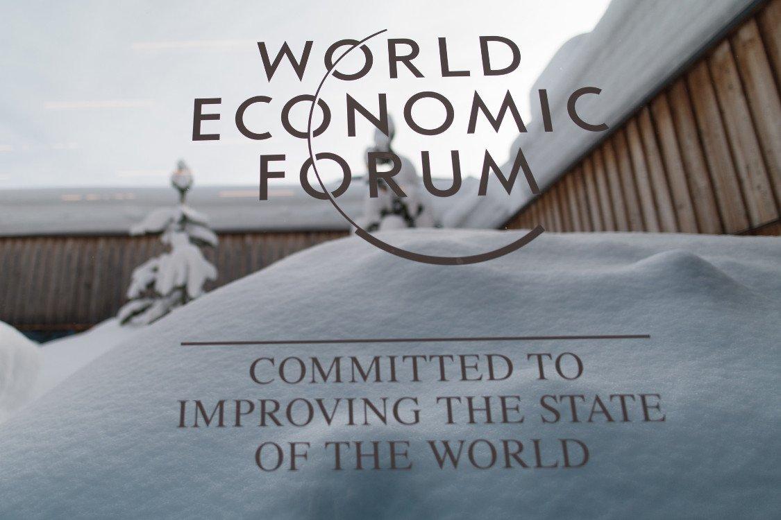 Winter in Davos - das Ambiente stimmt (Foto: WEF)